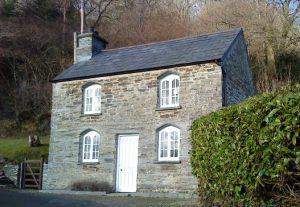 The First Landmark, Church Cottage in Ceredigion